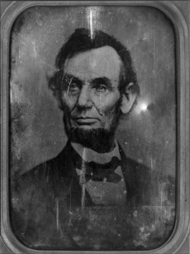 abe lincoln portrait